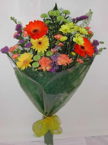 karisik kir çiçek buketi çiçek gönderimi  Manisa çiçek gönderme