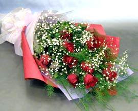 10 adet kirmizi gül çiçegi gönder  Manisa çiçek , çiçekçi , çiçekçilik