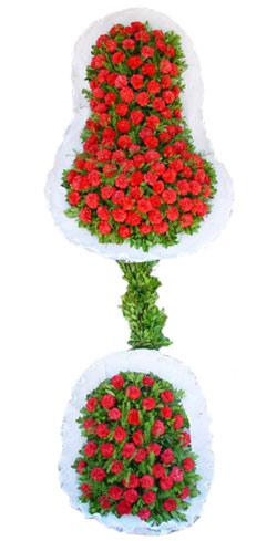 Dügün nikah açilis çiçekleri sepet modeli  Manisa çiçek yolla