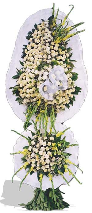 Dügün nikah açilis çiçekleri sepet modeli  Manisa cicekciler , cicek siparisi
