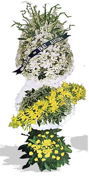 Dügün nikah açilis çiçekleri sepet modeli  Manisa çiçek online çiçek siparişi