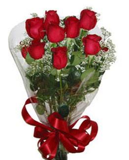Çiçek sade gül buketi 7 güllü buket  Manisa çiçek gönderme sitemiz güvenlidir