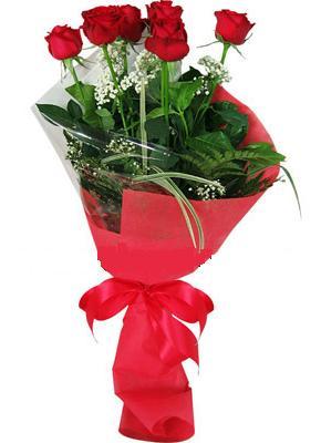 7 adet kirmizi gül buketi  Manisa online çiçek gönderme sipariş