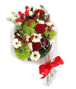 Karisik mevsim buketi çiçek tanzimi  Manisa çiçek yolla , çiçek gönder , çiçekçi