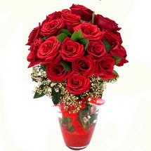 Manisa güvenli kaliteli hızlı çiçek   9 adet kirmizi gül