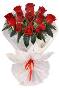 11 adet gül buketi  Manisa çiçek yolla , çiçek gönder , çiçekçi   kirmizi gül
