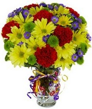 En güzel hediye karışık mevsim çiçeği  Manisa çiçek mağazası , çiçekçi adresleri