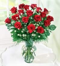 Manisa yurtiçi ve yurtdışı çiçek siparişi  9 adet mika yada vazoda kirmizi güller