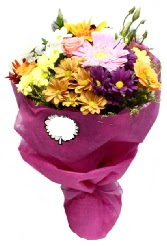 1 demet karışık görsel buket  Manisa çiçek , çiçekçi , çiçekçilik