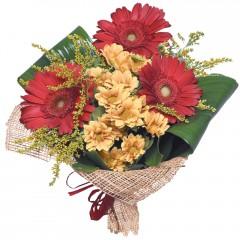 karışık mevsim buketi  Manisa kaliteli taze ve ucuz çiçekler