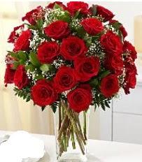 Vazo içerisinde 33 adet kırmızı gül  Manisa çiçek yolla
