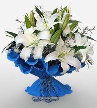 4 dal kazablanka çiçeğinden buket  Manisa çiçek yolla