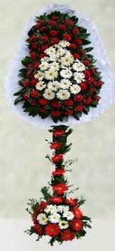 Manisa yurtiçi ve yurtdışı çiçek siparişi  çift katlı düğün açılış çiçeği