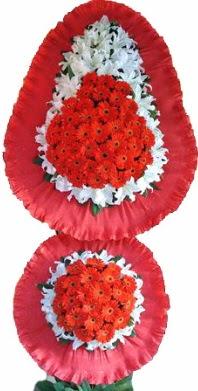 Manisa çiçek gönderme sitemiz güvenlidir  Çift katlı kaliteli düğün açılış sepeti