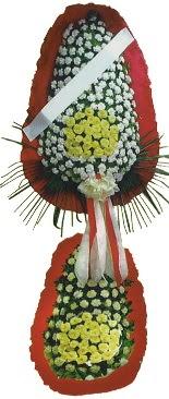 Çift katlı düğün açılış çiçeği  Manisa çiçekçi mağazası