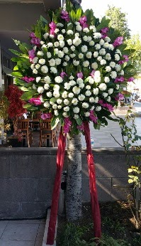 Manisa çiçek yolla , çiçek gönder , çiçekçi   Cenaze Çelengi  Manisa güvenli kaliteli hızlı çiçek