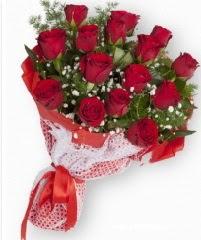11 adet kırmızı gül buketi  Manisa çiçek gönderme