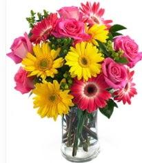 Vazoda Karışık mevsim çiçeği  Manisa kaliteli taze ve ucuz çiçekler