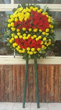 Cenaze çelengi çiçek modeli  Manisa çiçek siparişi sitesi
