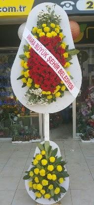 Çift katlı düğün nikah açılış çiçek modeli  Manisa kaliteli taze ve ucuz çiçekler