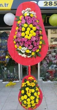 Çift katlı düğün nikah açılış çiçek modeli  Manisa çiçek gönderme sitemiz güvenlidir