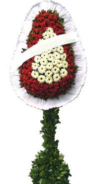 Çift katlı düğün nikah açılış çiçek modeli  Manisa cicek , cicekci
