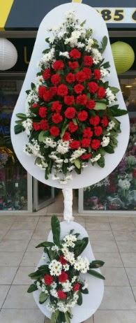 2 katlı nikah çiçeği düğün çiçeği  Manisa 14 şubat sevgililer günü çiçek