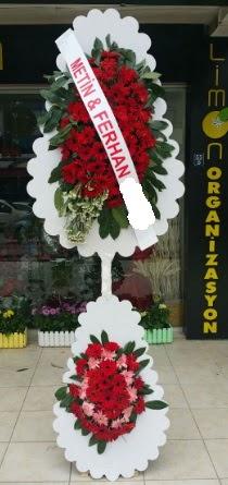 Çift katlı düğün nikah çiçeği modeli  Manisa güvenli kaliteli hızlı çiçek
