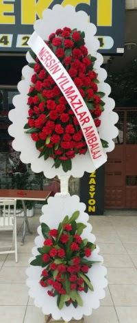 Çift katlı düğün nikah çiçeği modeli  Manisa çiçek mağazası , çiçekçi adresleri