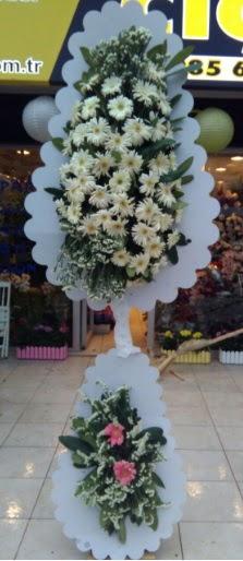 Çift katlı düğün nikah açılış çiçeği  Manisa anneler günü çiçek yolla