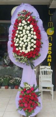 Çift katlı işyeri açılış çiçek modeli  Manisa çiçek servisi , çiçekçi adresleri