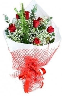 7 adet gülden kız arkadaşıma çiçek  Manisa anneler günü çiçek yolla