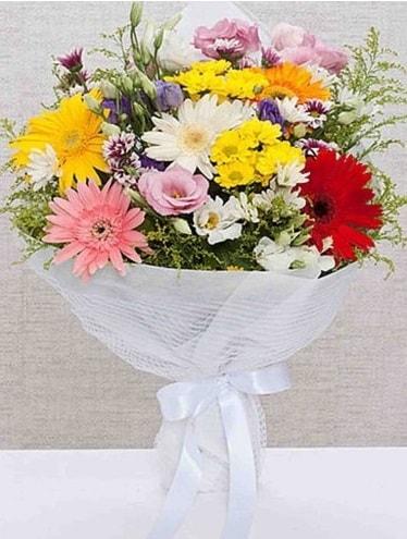 Karışık Mevsim Buketleri  Manisa çiçek servisi , çiçekçi adresleri