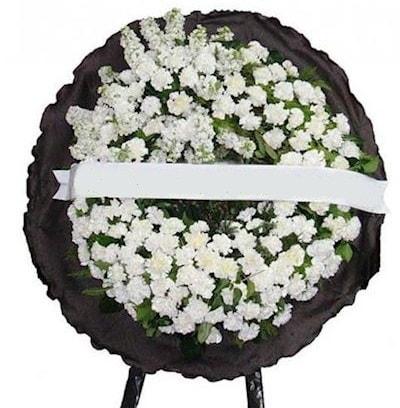 Cenaze çelengi çiçeği modelleri  Manisa yurtiçi ve yurtdışı çiçek siparişi