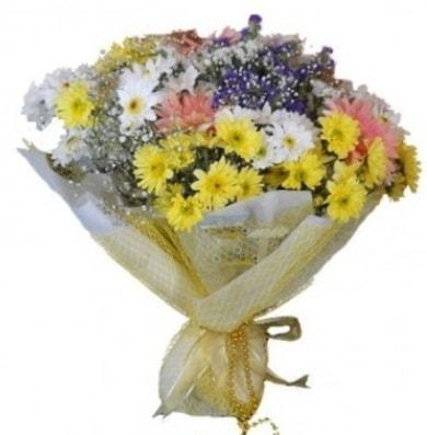 Karışık mevsim çiçeği  Manisa hediye sevgilime hediye çiçek