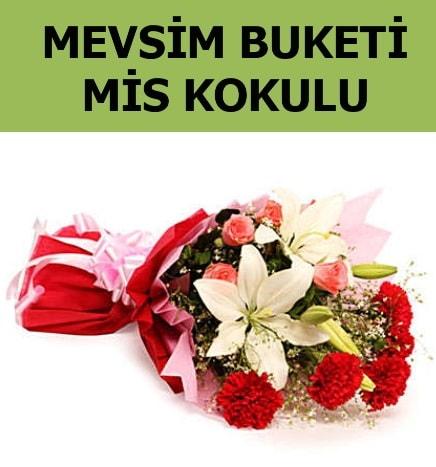 Karışık mevsim buketi mis kokulu bahar  Manisa çiçek servisi , çiçekçi adresleri