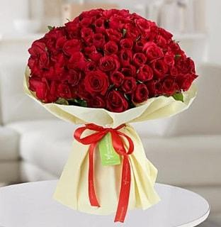 101 adet kırmızı gül buketi koca demet  Manisa çiçek yolla , çiçek gönder , çiçekçi