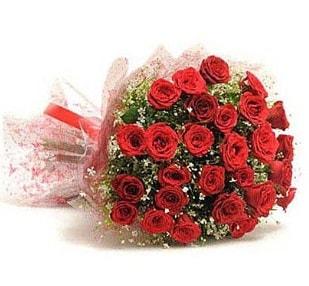 27 Adet kırmızı gül buketi  Manisa çiçek servisi , çiçekçi adresleri
