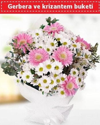 Papatya ve Gerbera Buketi  Manisa çiçek online çiçek siparişi