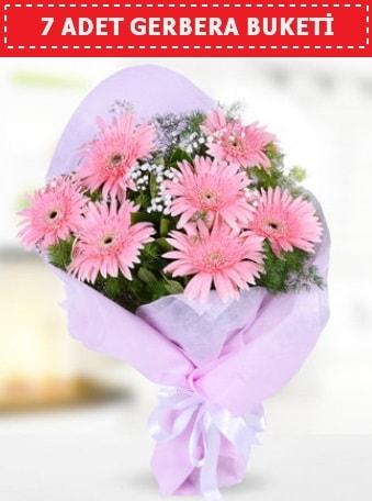 Pembe Gerbera Buketi  Manisa çiçek online çiçek siparişi
