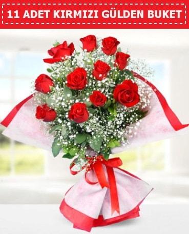 11 Adet Kırmızı Gül Buketi  Manisa çiçek yolla , çiçek gönder , çiçekçi
