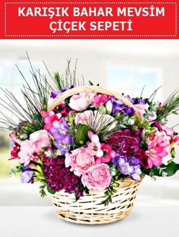Karışık mevsim bahar çiçekleri  Manisa çiçek servisi , çiçekçi adresleri
