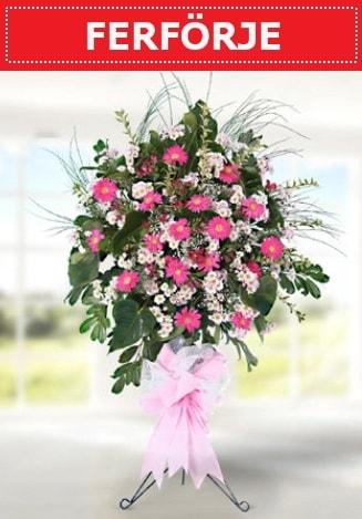 Ferförje düğün nikah açılış çiçeği  Manisa uluslararası çiçek gönderme